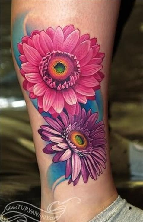 65 daisy tattoo designs for flower lovers