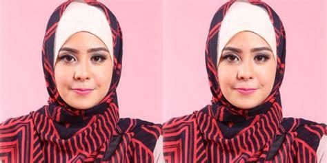 tutorial hijab pesta risty tagor pinkemma tutorial hijab chic risty tagor saat ramadan