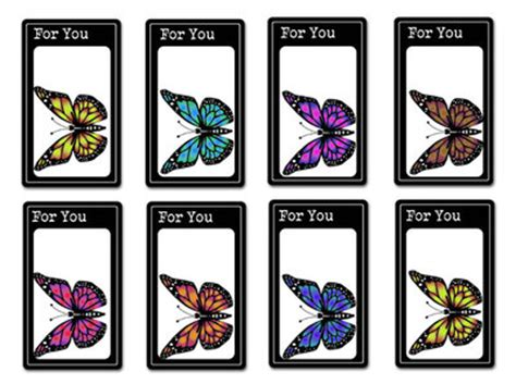 printable butterfly name tags printable fruit and butterfly gift tags