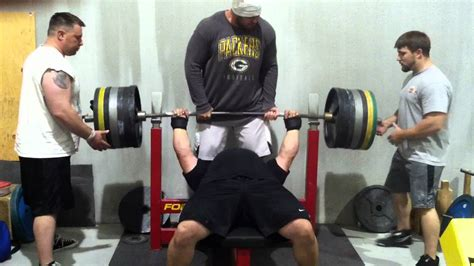 eric spoto bench eric spoto 675 x 3 raw bench press youtube