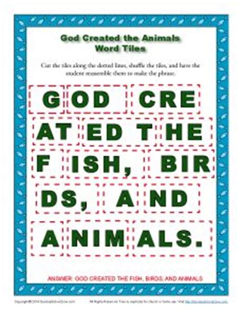 printable bible verse jigsaw puzzles 1000 images about creation bible activities on pinterest