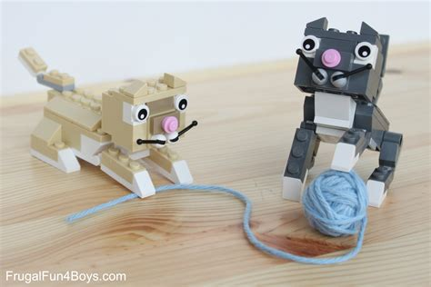 lego cats building instructions frugal fun for boys and