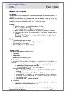 feasibility report template best photos of feasibility report sle feasibility