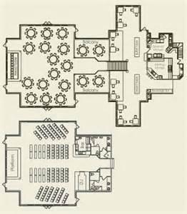 Wedding Floor Plans by Meeting Facilities Della Terra Mountain Chateau
