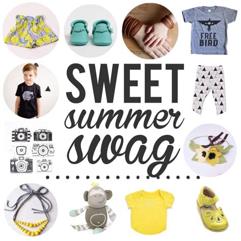 Swag Giveaways - sweet summer swag giveaway