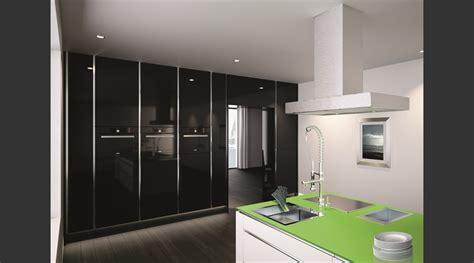 küche schwarz matt wohnung streichen ideen