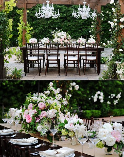 classy backyard wedding blog glamorous and elegant backyard wedding