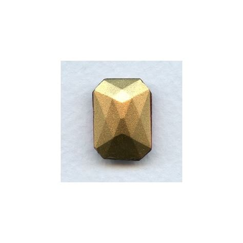 Ruby Oktagon octagon 18x13mm sapphire foiled faceted 1