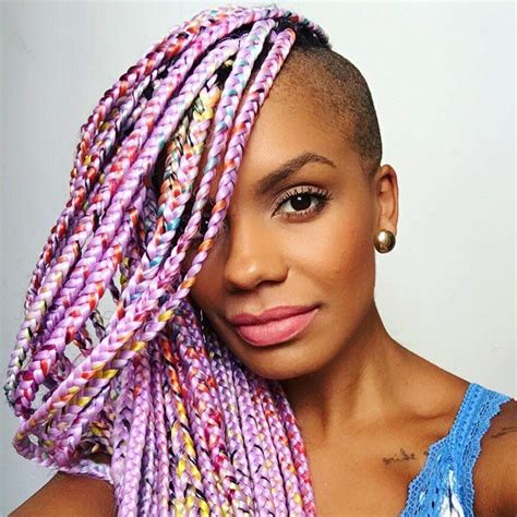 suwa african braiding hair catface hair rainbow ombre jumbo braiding hair catface hair