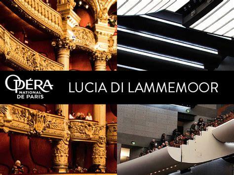 Lucia Calendrier 2018 Lucia Di Lammermoor Op 233 Ra National De 2016