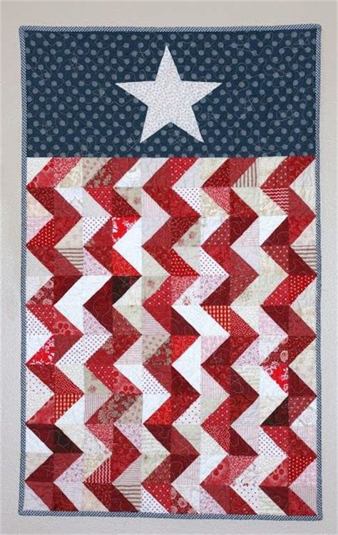 just a little red white blue inspiration for your 4th of july week chevron flag wall hanging at a little bit biased finished