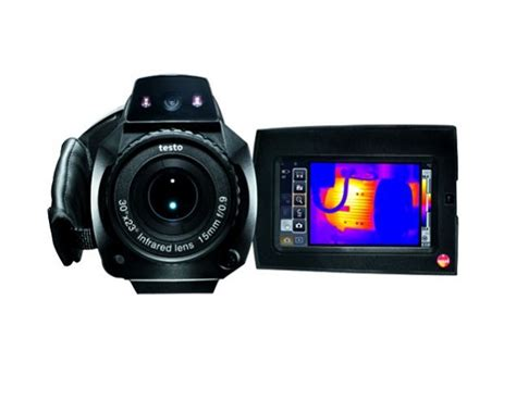 termocamera testo termocamera testo 885 per la termografia degli edifici