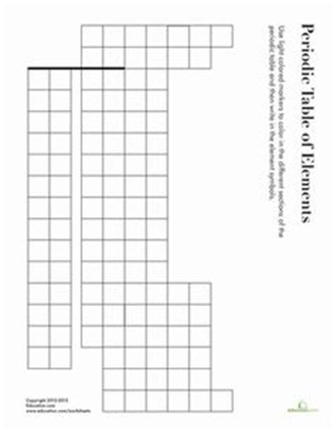 printable blank periodic table worksheets 1000 images about periodic table on pinterest periodic