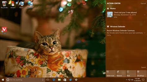 christmas themes windows 10 christmas theme 2016 for windows 10
