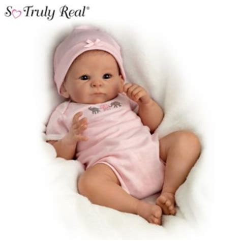 new born free super afro cut afro american bob baby doll little peanut baby doll