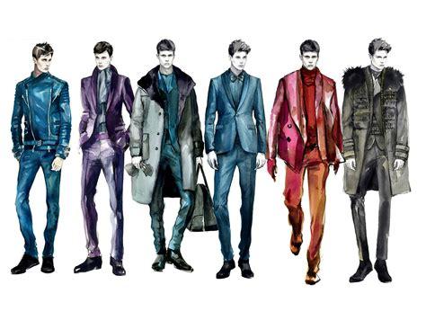 fashion design for man mengjie di watercolor fashion illustration sketching