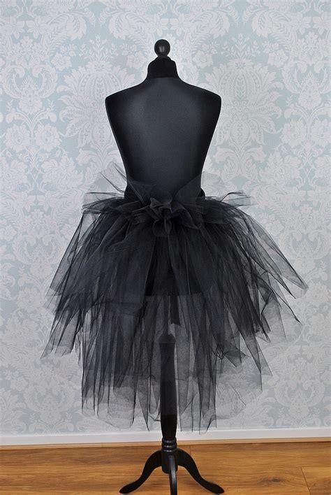 Swan Flower Tutu black swan tutu tulle skirts tutu dresses