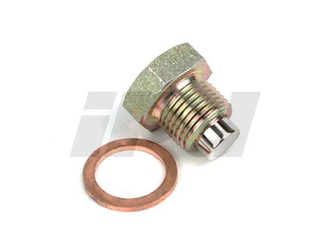volvo magnetic oil pan drain plug