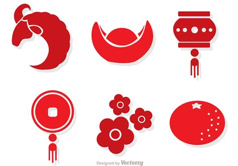new year character vector lunar new year vectors free vector