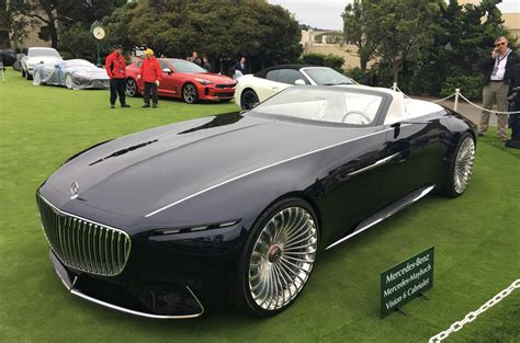 auto maybach electric mercedes maybach 6 cabriolet concept car revealed