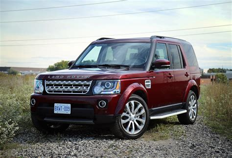 land rover car 2016 review 2016 land rover lr4 hse lux canadian auto review