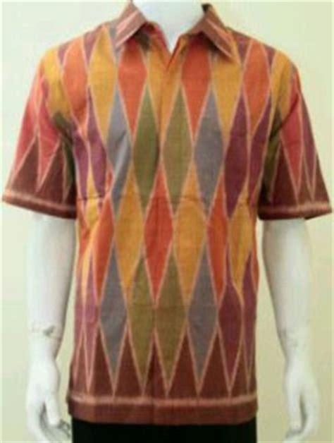model baju tenun rangrang toko kain tenun