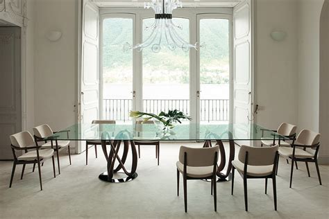 large glass dining room table dining room bright dining room with large glass table on