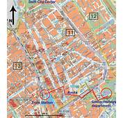 You Can Open Download And Print This Detailed Delft Map By Clicking
