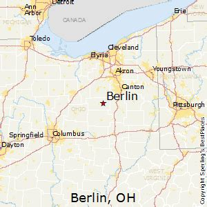 Berlin Ohio Map by Best Places To Live In Berlin Ohio