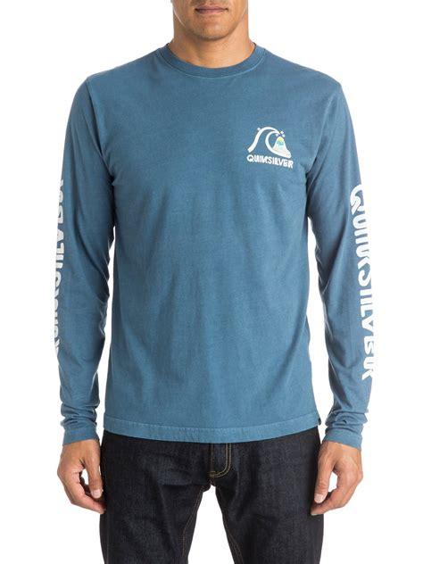 Tshirt Quiksilverbajukaos Sleeve Quiksilver Putih quiksilver mens crackle sleeve t shirt aqyzt04094 ebay