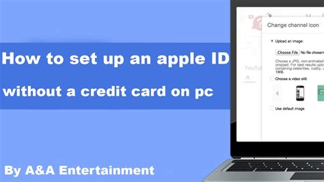 apple account without credit card how to set up an apple id without a credit card on