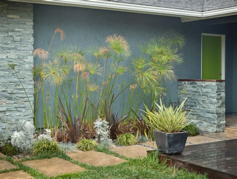 mid century modern landscaping colorful mid century modern residence midcentury
