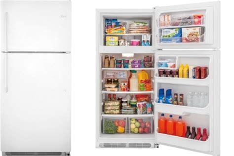 review frigidaire ffhtqp top freezer refrigerator