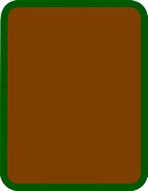 brown card svg clip arts clip png