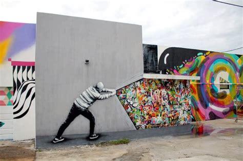 graffiti interiors home art murals and decor ideas hybrid graffiti black and white stencils bring colorful