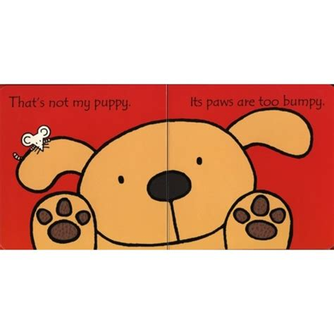 that s not my puppy that s not my puppy touchy feely book usborne board book from who what why