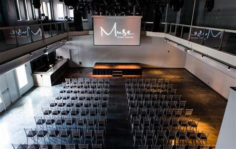 design for event center event spaces muse event center minneapolis mn
