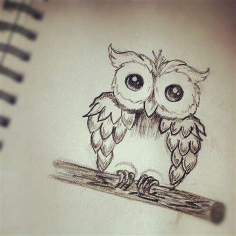 owl tattoo sketch tumblr cute drawings tumblr cute drawing ideas tumblr 12 notes
