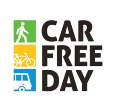 day logo free world car free day scarce