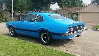 1970 70 ford maverick grabber blue v8 289 4 speed 8 quot 3 55