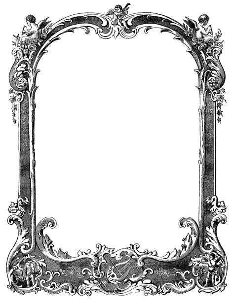 cool frame designs cool border designs clipart best