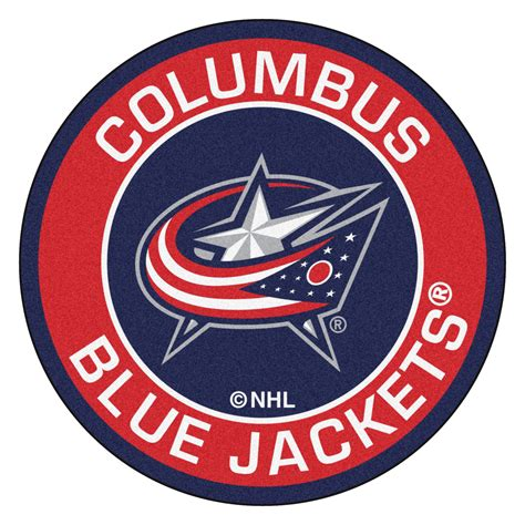 Home Decor Columbus Ohio Columbus Blue Jackets Logo Roundel Mat 27 Quot