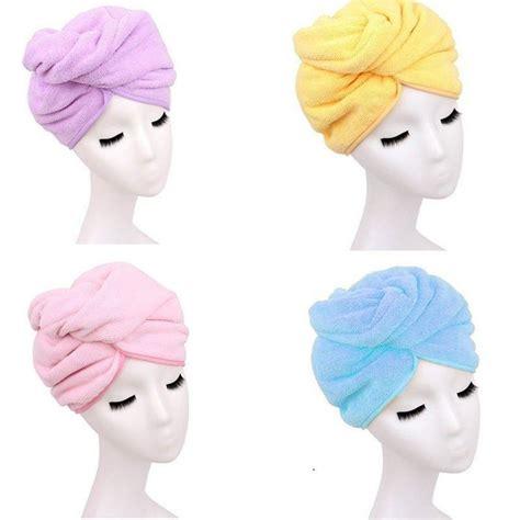 Hair Dryer Or Towel hat bathing cap salon towel dryer towel hair drying magic dryer ebay