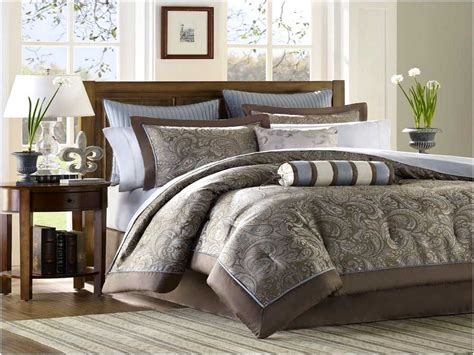 brown bedding sets blue and brown bedding ideas home design remodeling ideas