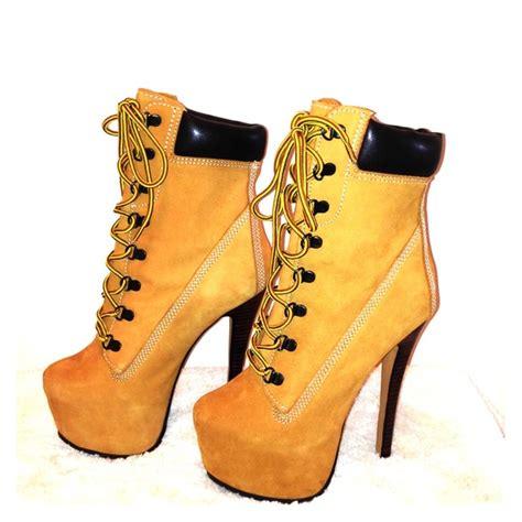 timberland high heeled boots zigi soho zigi z jo timberland style high heel boots