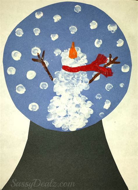 Paper Snow Globe Craft - 1000 images about winter crafts on