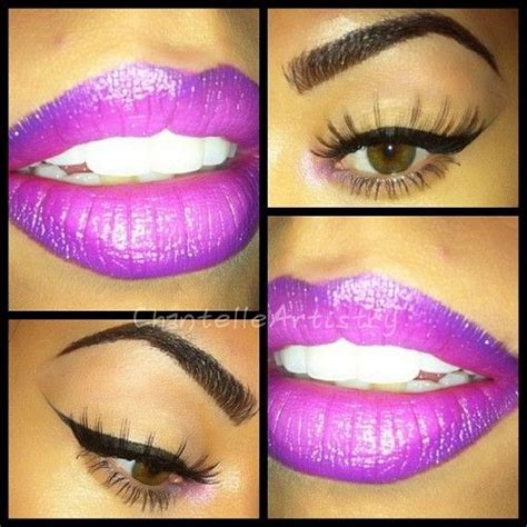 Lipstick Ombre Purple 101 best bright images on makeup a and gorgeous