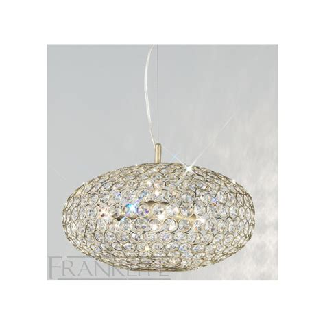 Pendant Lighting With Crystals Franklite Fl2274 6 Marquesa Pendant Light Love4lighting