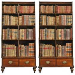 Bookshelves For Sale A Pair Of Georgian Rosewood And Brass Inlaid