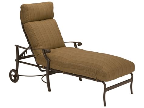metal chaise lounge with wheels tropitone montreux cushion aluminum chaise lounge with